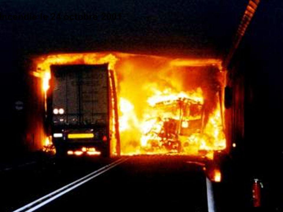 Incendie le 24 octobre 2001