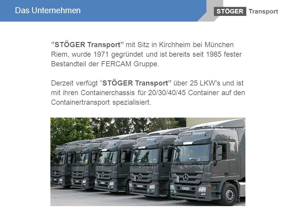 STÖGER Transport mit Sitz in Kirchheim bei München Riem, wurde 1971 gegründet und ist bereits seit 1985 fester Bestandteil der FERCAM Gruppe. Derzeit