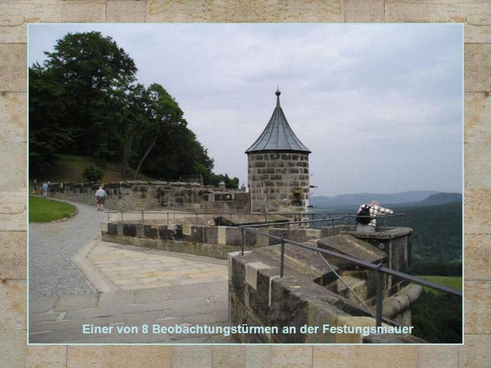 Einer von 8 Beobachtungstürmen an der Festungsmauer