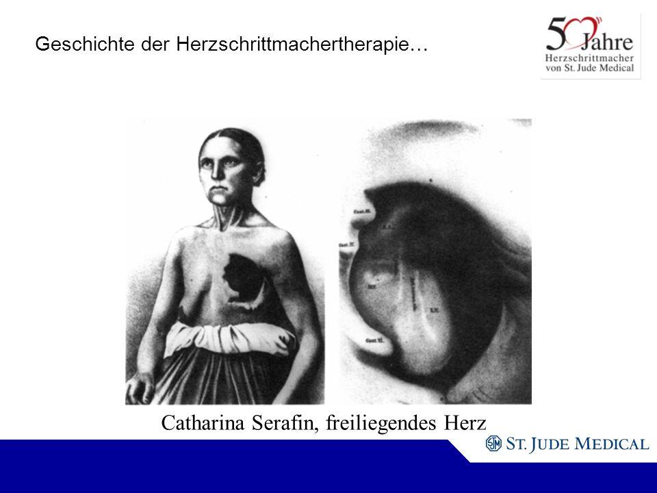Catharina Serafin, freiliegendes Herz Geschichte der Herzschrittmachertherapie…