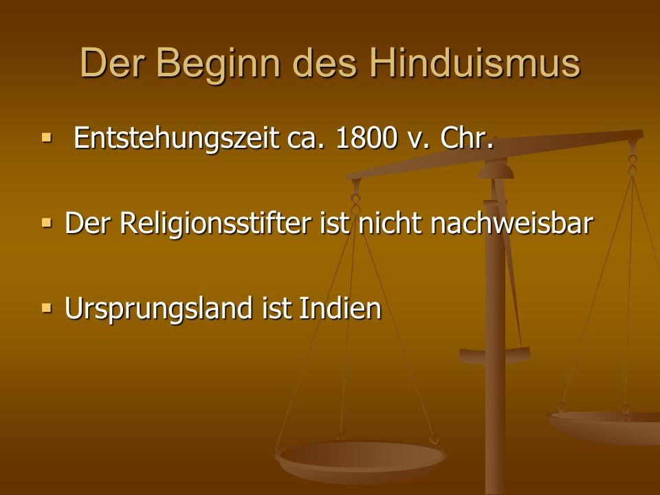 Gottesbild Haben Hindus eine poly- oder eine monotheistische Einstellung .