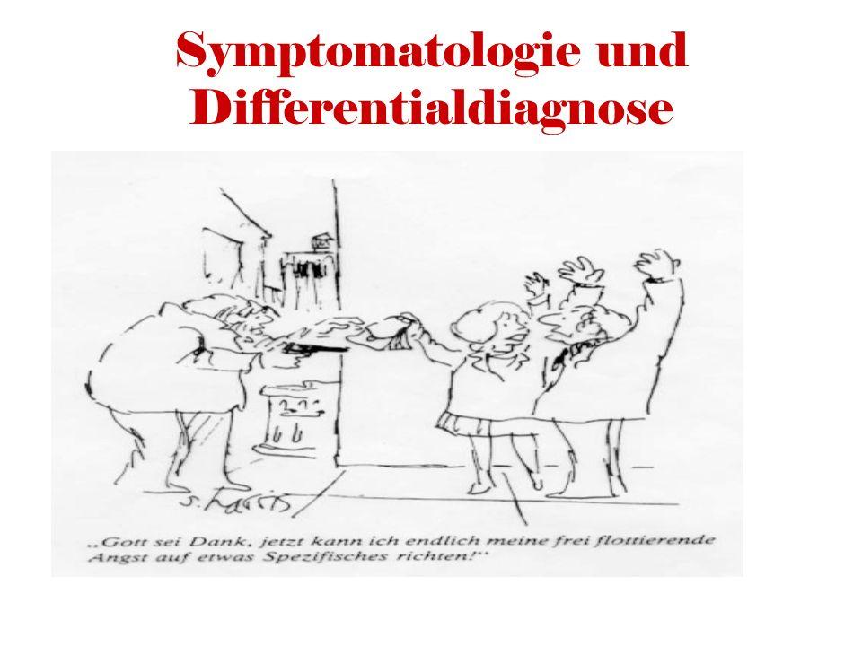 Symptomatologie und Differentialdiagnose