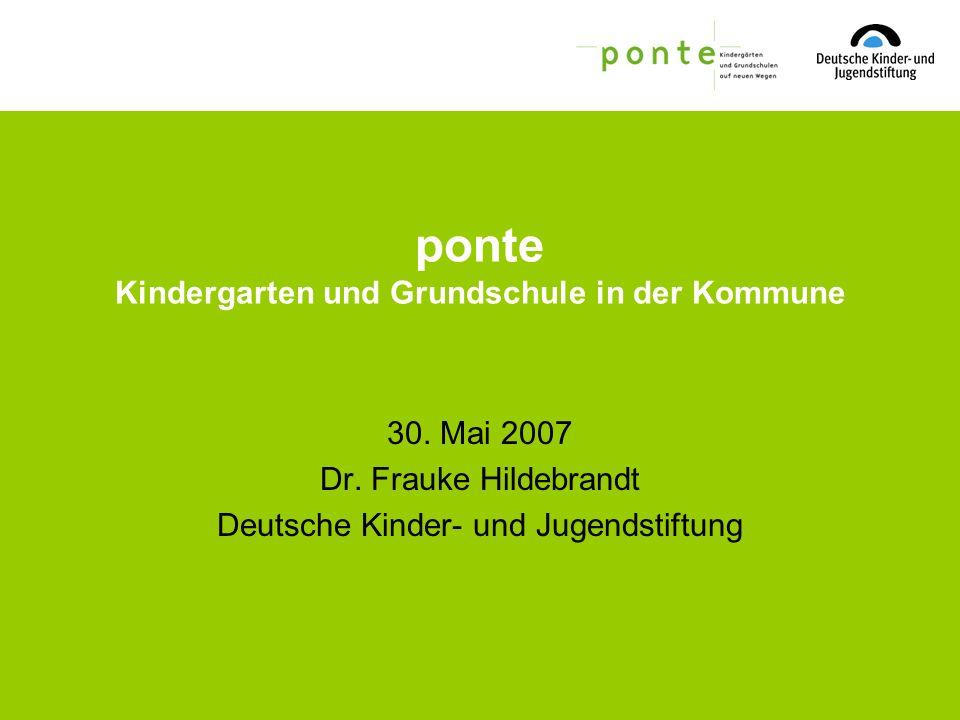 Folien Kooperation von Kita und Grundschule.