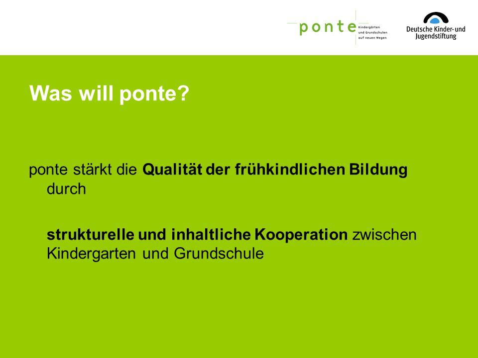 Vielen Dank für Ihre Aufmerksamkeit! Mehr Infos unter www.ponte-info.de