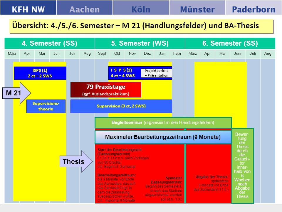 4. Semester (SS)5. Semester (WS)6.