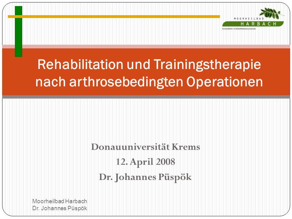 Donauuniversität Krems 12.April 2008 Dr.