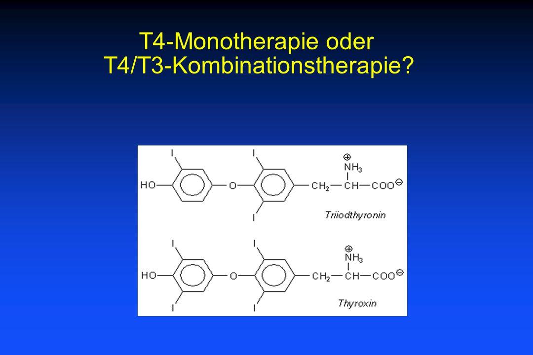 T4-Monotherapie oder T4/T3-Kombinationstherapie?