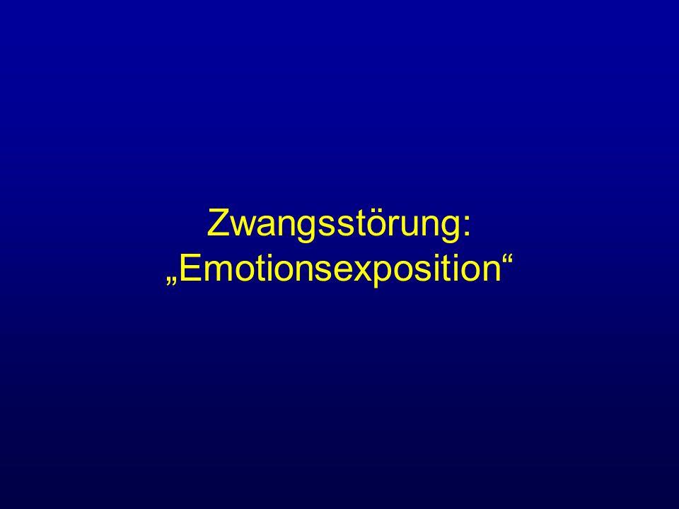 Zwangsstörung: Emotionsexposition