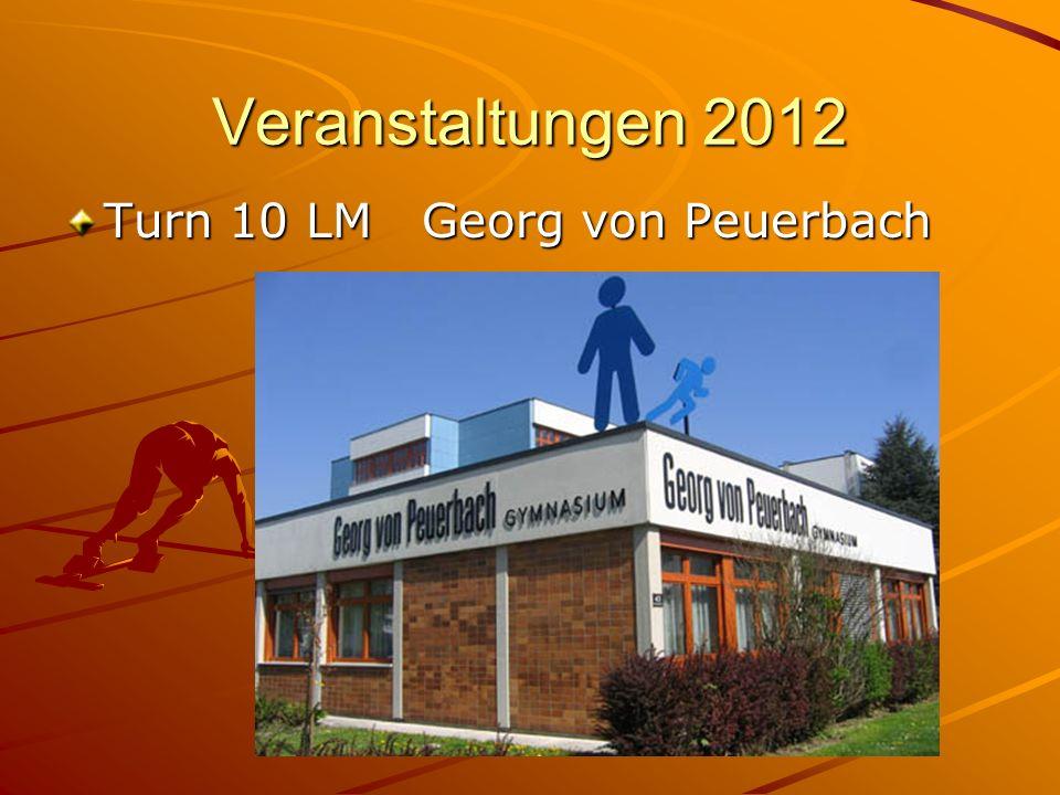 Veranstaltungen 2012 Turn 10 LM Georg von Peuerbach
