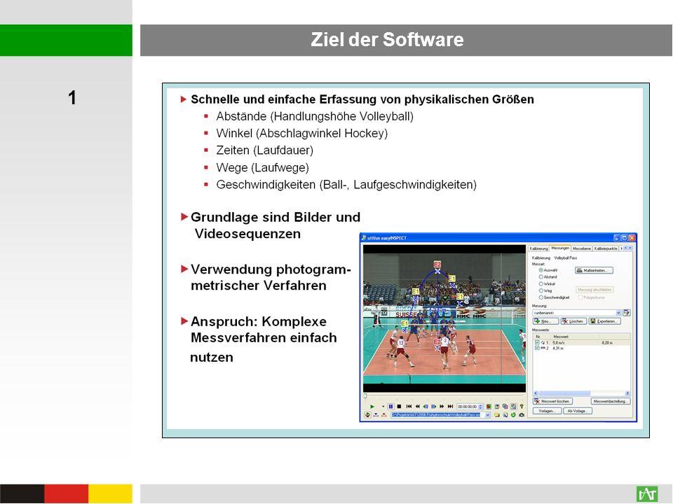 Anwendungen des Auswertungsmoduls Operative Anwendung in der Prozessbegleitung Technikanalyse von Nachwuchsspielerinnen im Volleyball und Beispielclips (3 Techniken) – Matrix zur spielerbezogenen Auswahl der Videoclips 1