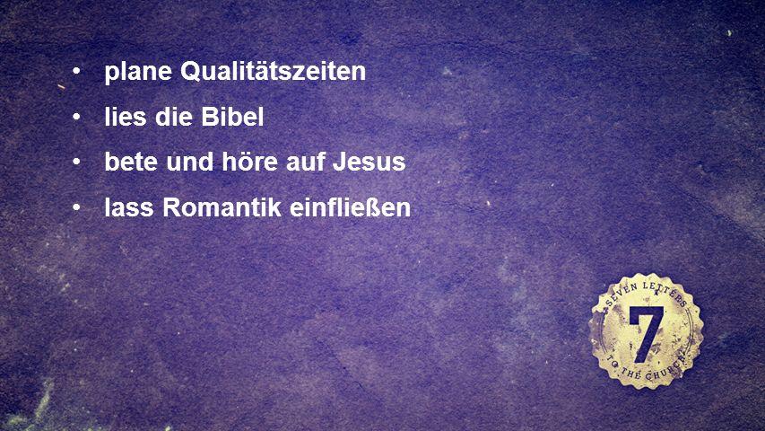 FULLSCREEN plane Qualitätszeiten lies die Bibel bete und höre auf Jesus lass Romantik einfließen