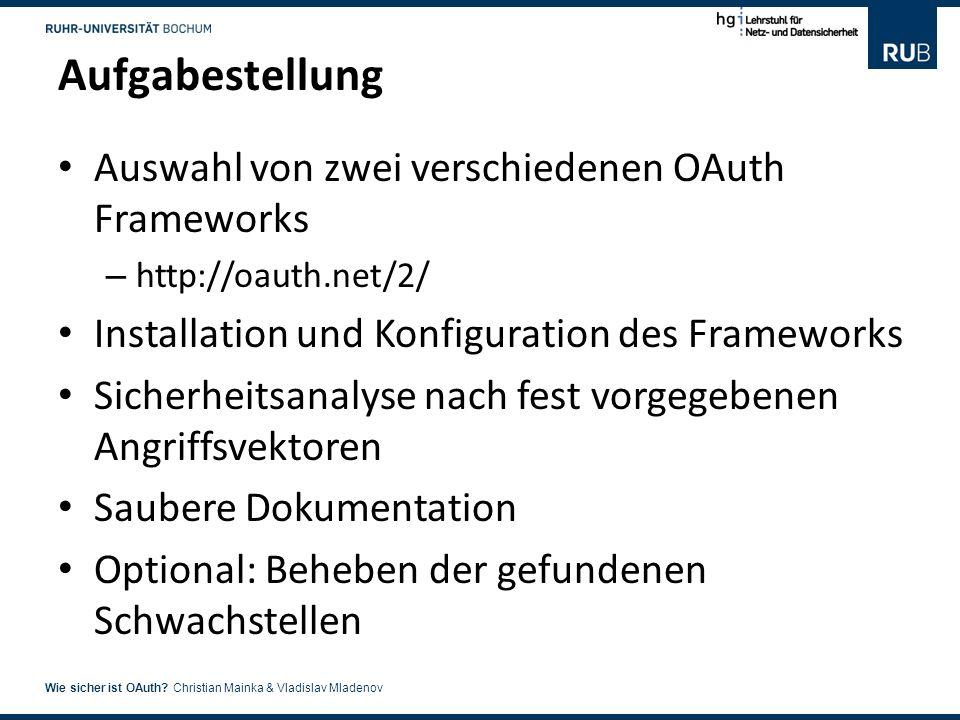 5 Wie sicher ist OAuth.