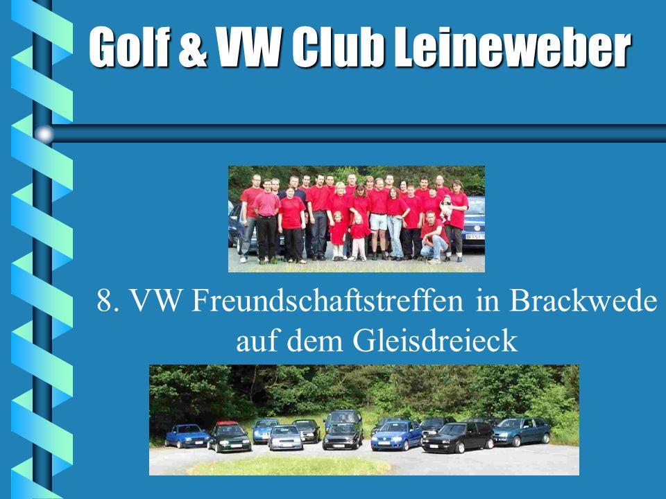 Golf & VW Club Leineweber 8. VW Freundschaftstreffen in Brackwede auf dem Gleisdreieck