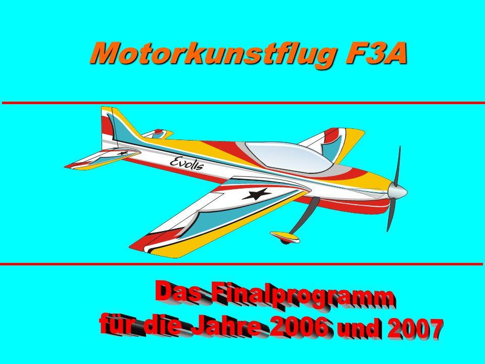 Wind- richtung F-07.17: Turn mit 4/8-Punkt-Rolle aufwärts, Halber Rolle abwärts, Ausflug im Rückenflug Drehung um den Schwerpunkt Bei einem Radius von zwei Flügelspannweiten und mehr...NULL !