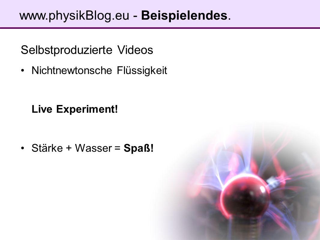 www.physikBlog.eu - Beispielendes.