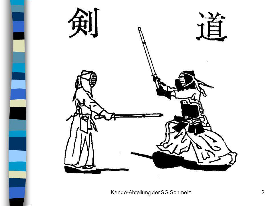 Kendo-Abteilung der SG Schmelz13 Schmelzer Erfolge (1) 1987Dr.Goto Gedächtnisturnier, Düsseldorf Hans Paulus2.