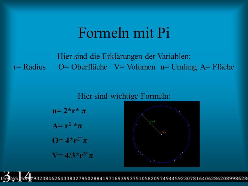 Die Berechnungen von PI Gottfried Wilhelm Leibniz (1646-1716) erfand eine