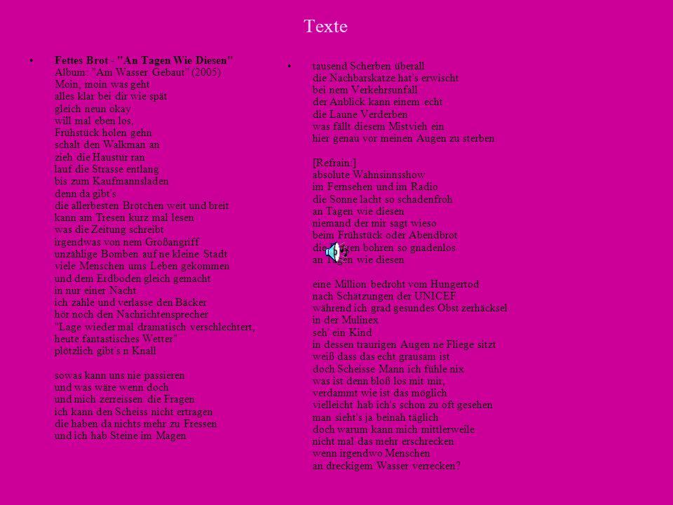 Texte Fettes Brot -