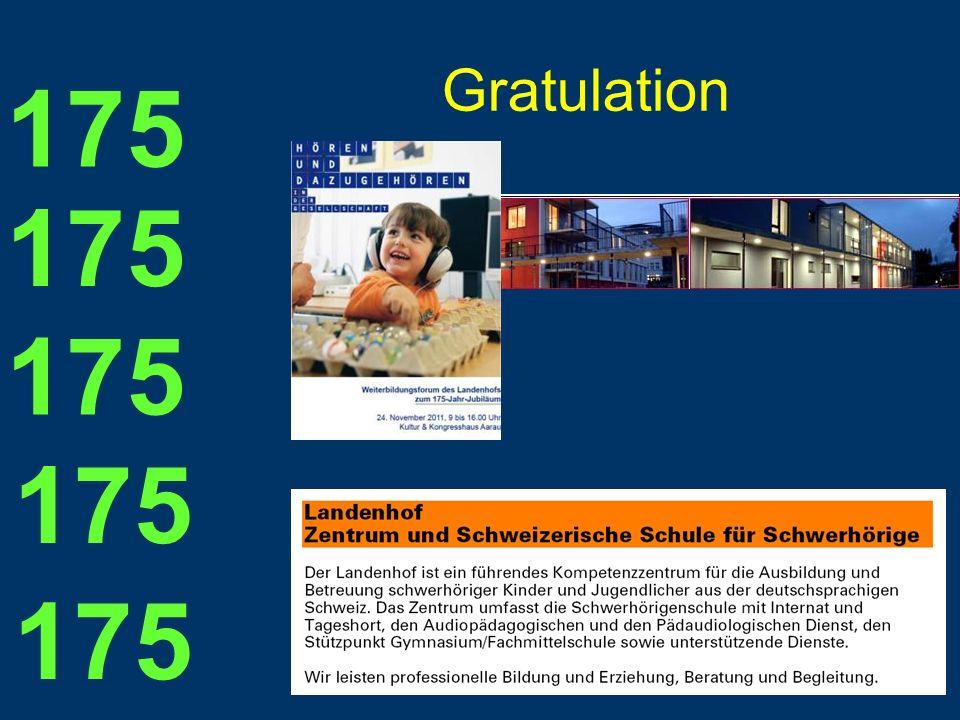 Gratulation 175