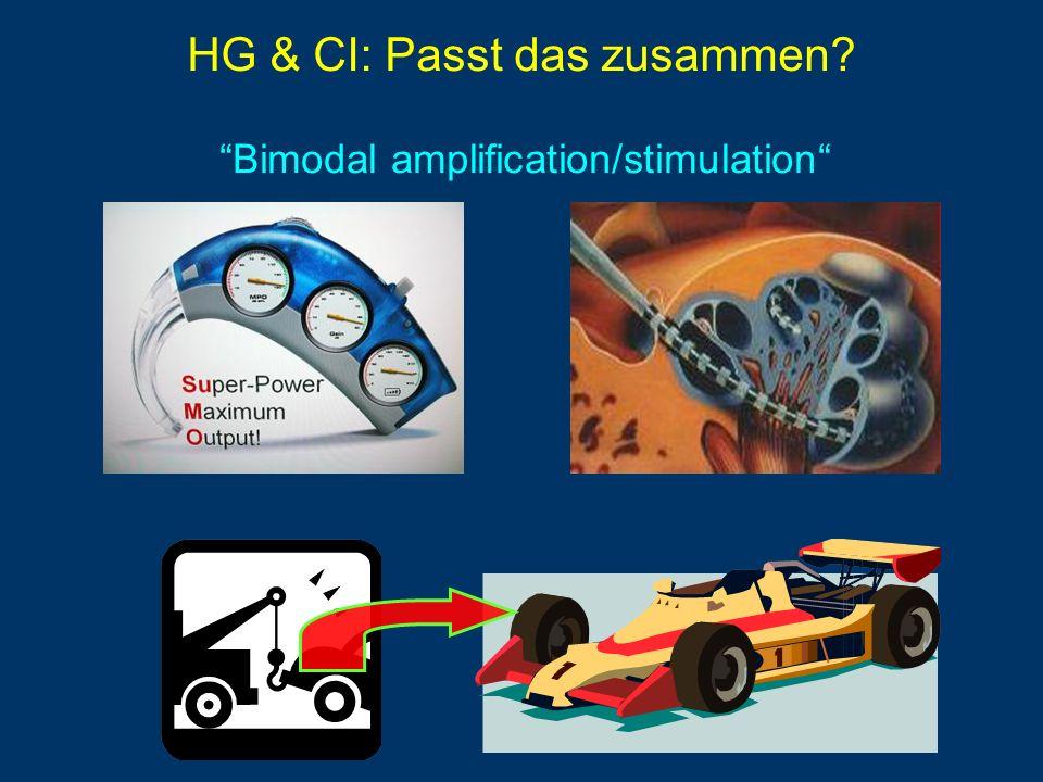 HG & CI: Passt das zusammen? Bimodal amplification/stimulation
