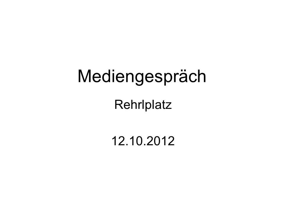 Mediengespräch Rehrlplatz 12.10.2012