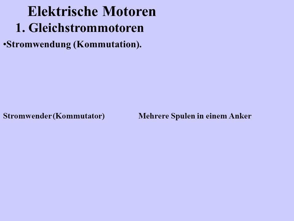 Stromwendung (Kommutation).