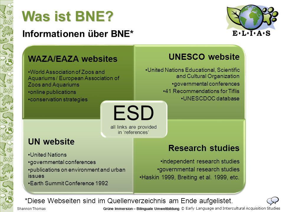 © Early Language and Intercultural Acquisition Studies C Websites, die die Copyright-Thematik für ErzieherInnen erklären: http://www.templetons.com/brad/copymyths.html http://home.earthlink.net/~cnew/research.htm#Purpose%20of%20use http://www.eucopyright.com/en/copyright-and-related-rights http://www.copyright.gov/title17/ Wenn das Copyright unklar ist, ist es besser, das Material nicht zu benutzen als juristische Folgen zu tragen Wenn das Material unbedingt benötigt wird, ist es möglich, die Autoren zu kontaktieren und Nutzungsrechte auszuhandeln Disclaimer: Das ELIAS-Projekt und die Autorin dieser Präsentation haften nicht für die rechtlichen Folgen, die eine Nutzung dieses Materials nach sich ziehen kann.