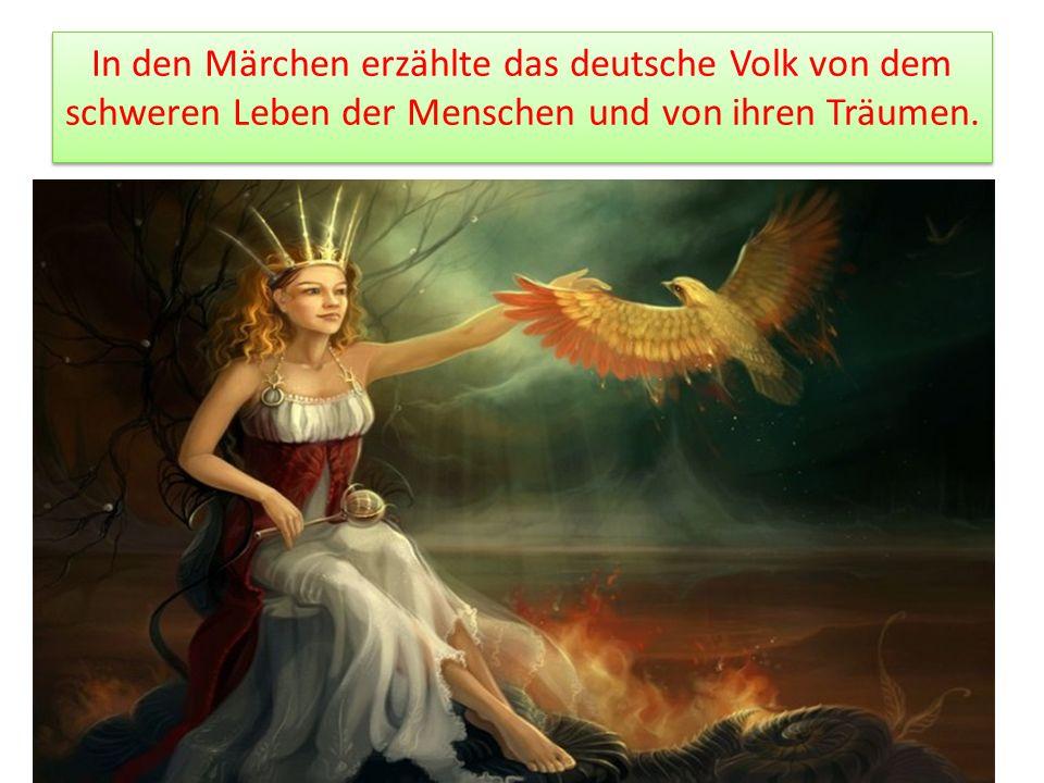 Die Brüder Grimm waren Gelehrte und Dichter.
