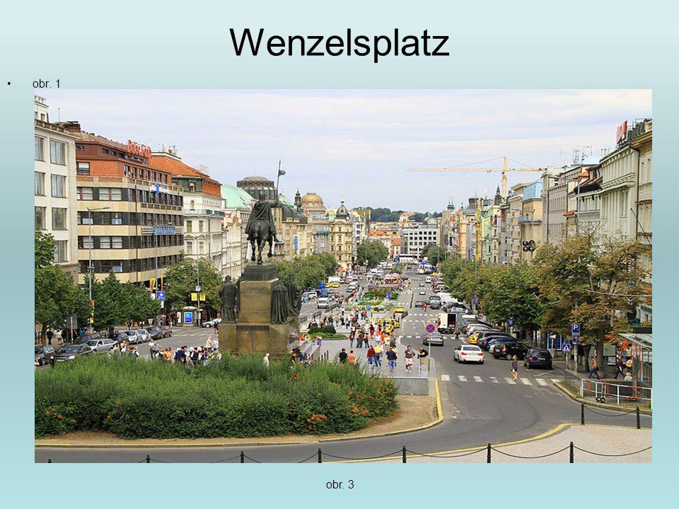 Wenzelsplatz obr. 1 obr. 3