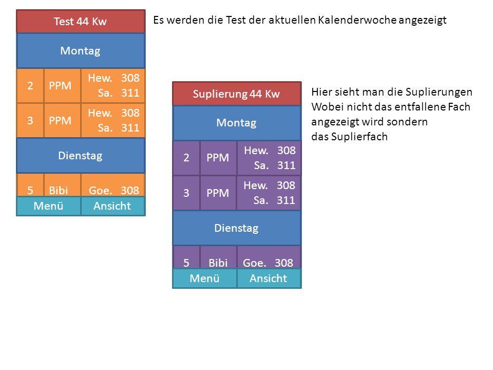 Test 44 Kw PPM Hew. 308 Sa. 311 2 PPM Hew. 308 Sa.