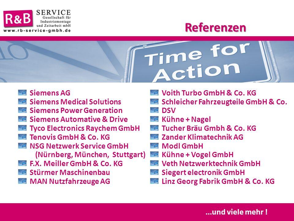Siemens AG Siemens Medical Solutions Siemens Power Generation Siemens Automative & Drive Tyco Electronics Raychem GmbH Tenovis GmbH & Co. KG NSG Netzw