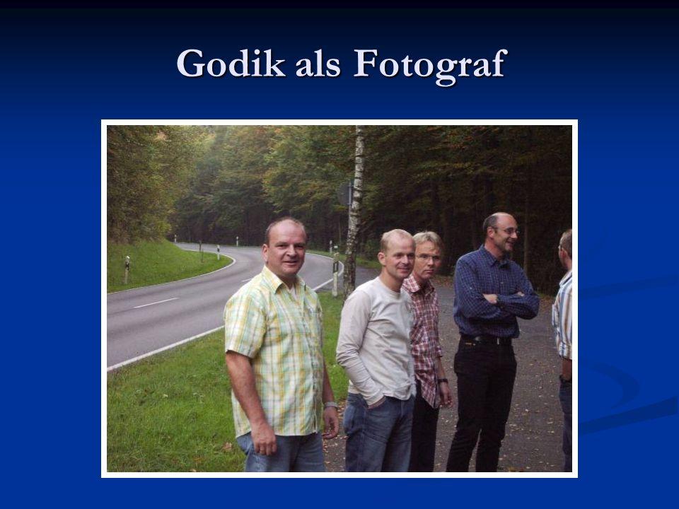Godik als Fotograf