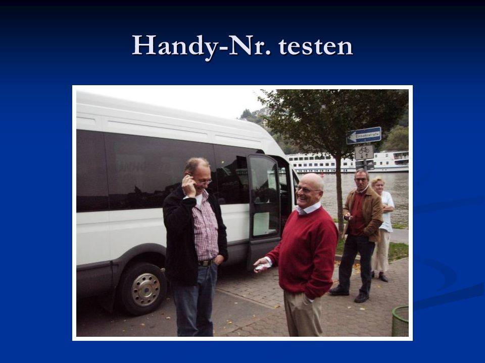 Handy-Nr. testen