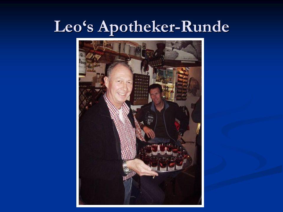 Leos Apotheker-Runde