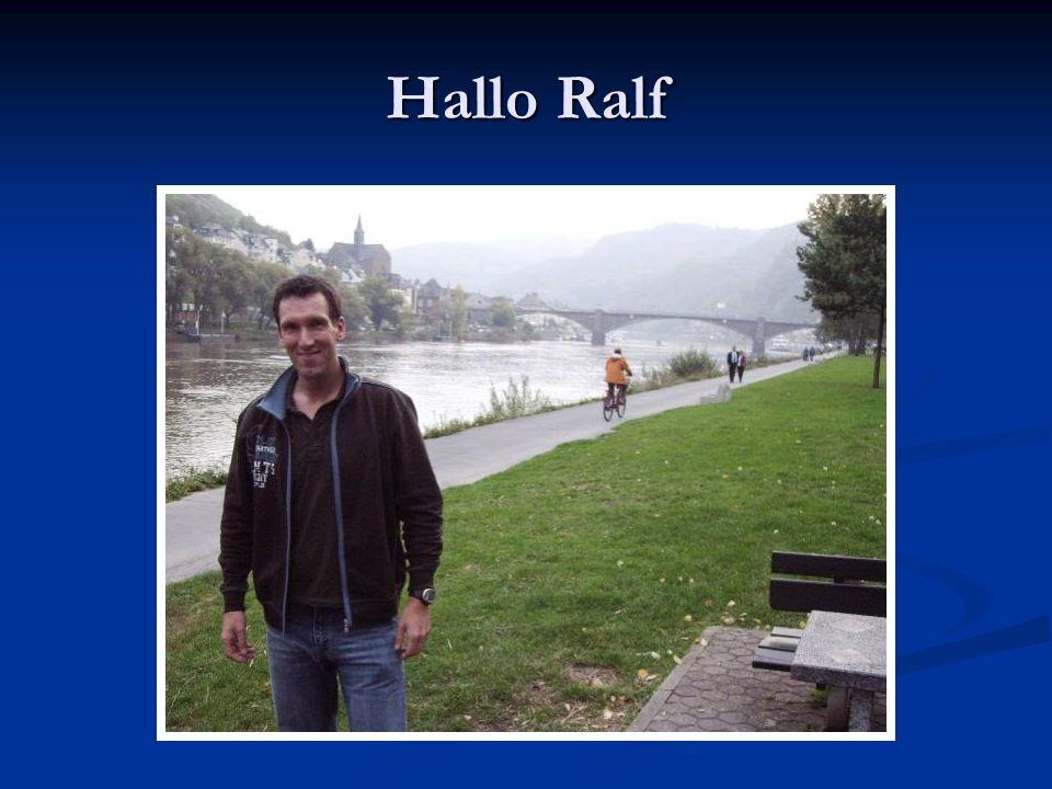Hallo Ralf