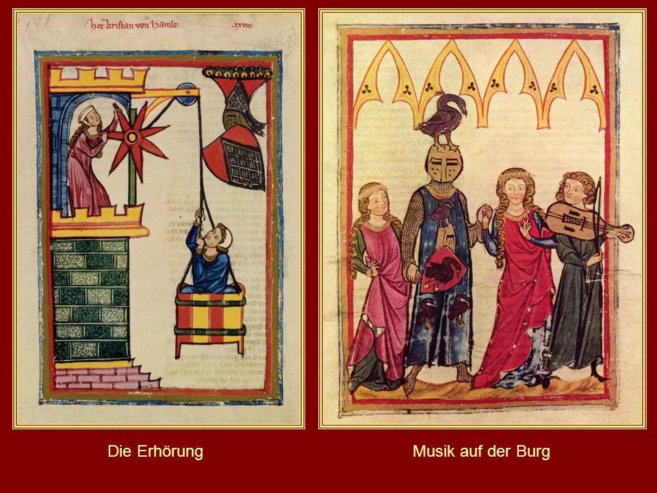 Heidelberger Liederhandschrift (Codex Manesse) Zürich 1305 bis 1340