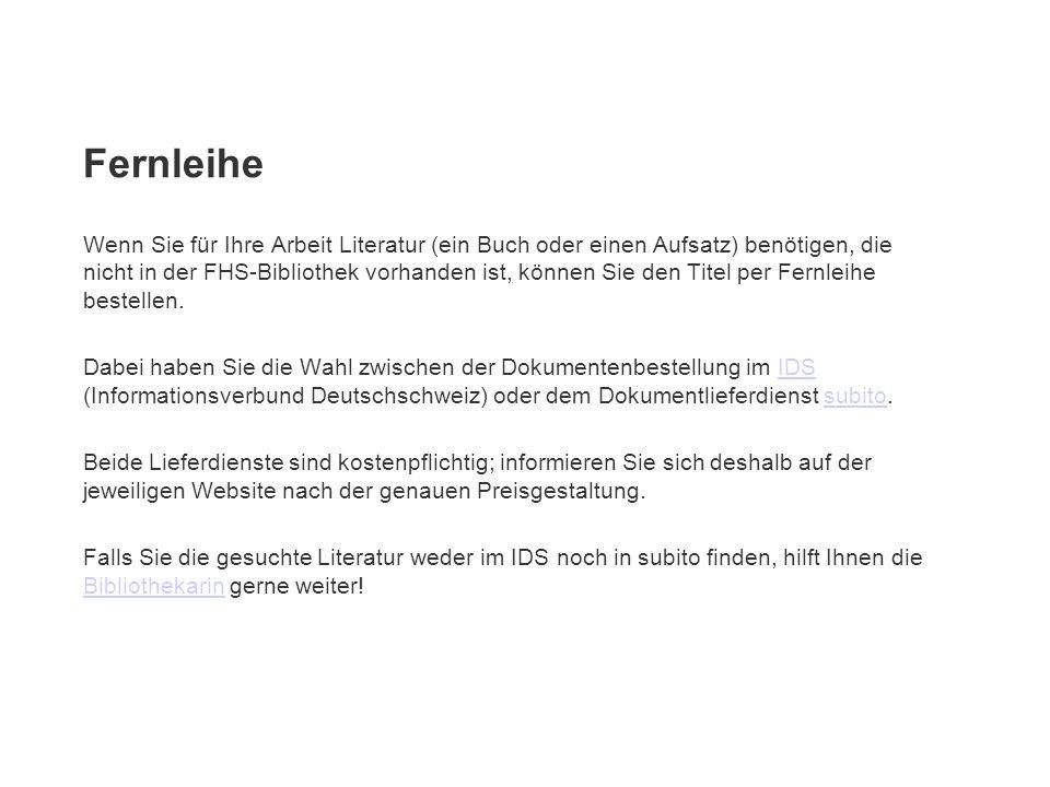 Bestellung im IDS Die im IDS (Informationsverbund Deutschschweiz) zusammengeschlossenen Bibliotheksverbünde bieten Ihnen Zugriff auf über 7 Mio.