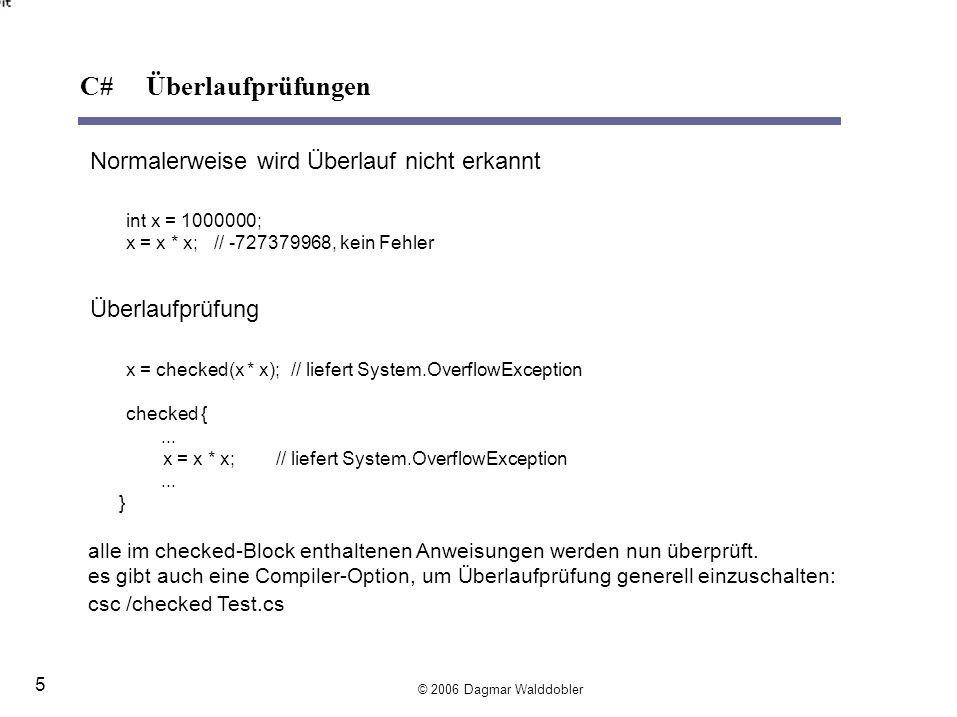 typeof liefertTypeObjekt zu einem Typ (TypeObjekt eines Objekts x kann mit x.GetType() abgefragt werden).