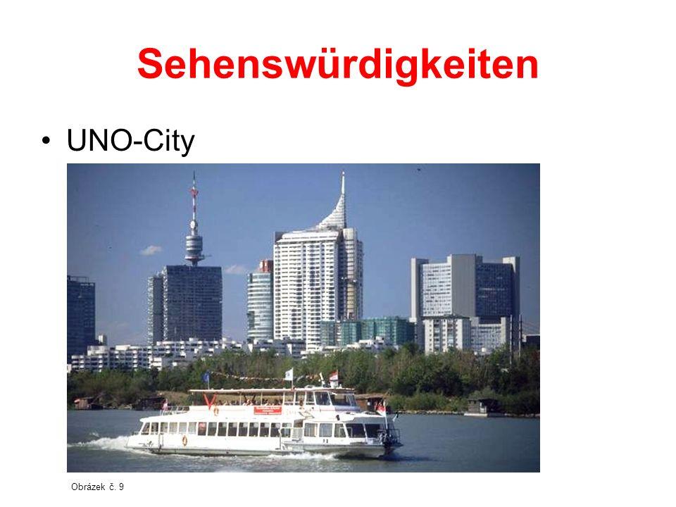 Sehenswürdigkeiten UNO-City Obrázek č. 9