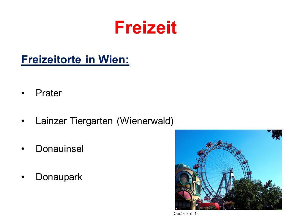Freizeit Freizeitorte in Wien: Prater Lainzer Tiergarten (Wienerwald) Donauinsel Donaupark Obrázek č.