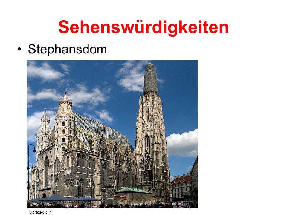 Sehenswürdigkeiten Stephansdom Obrázek č. 4