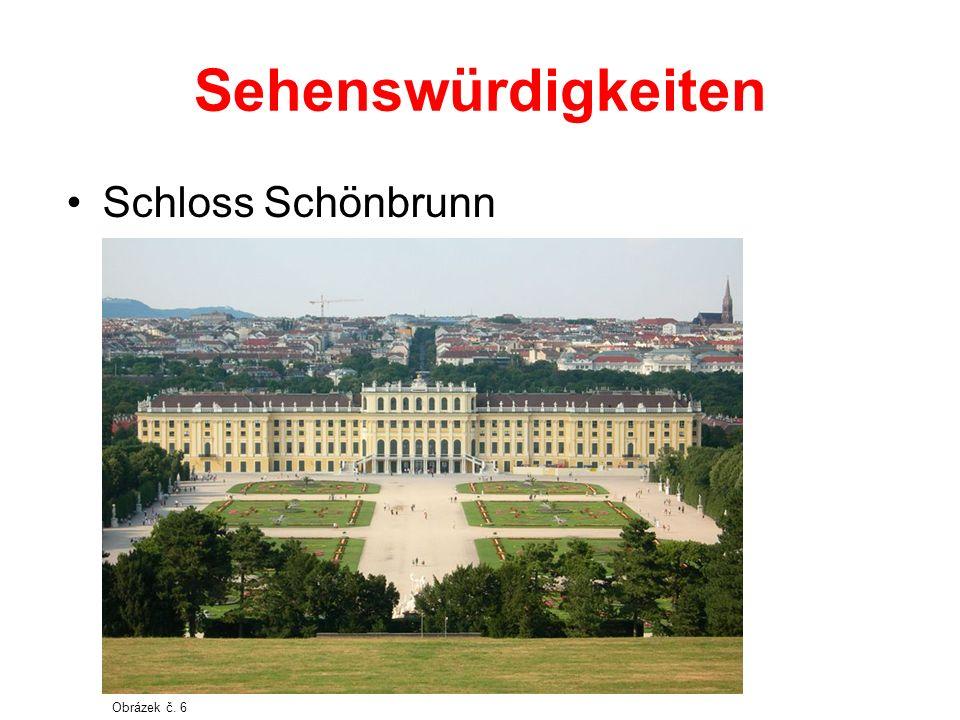 Sehenswürdigkeiten Schloss Schönbrunn Obrázek č. 6