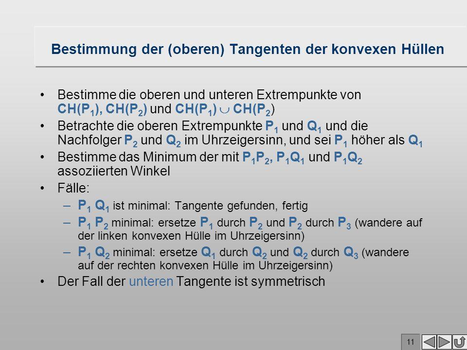 10 Nachfolger Winkel minimal P2P2 P1P1
