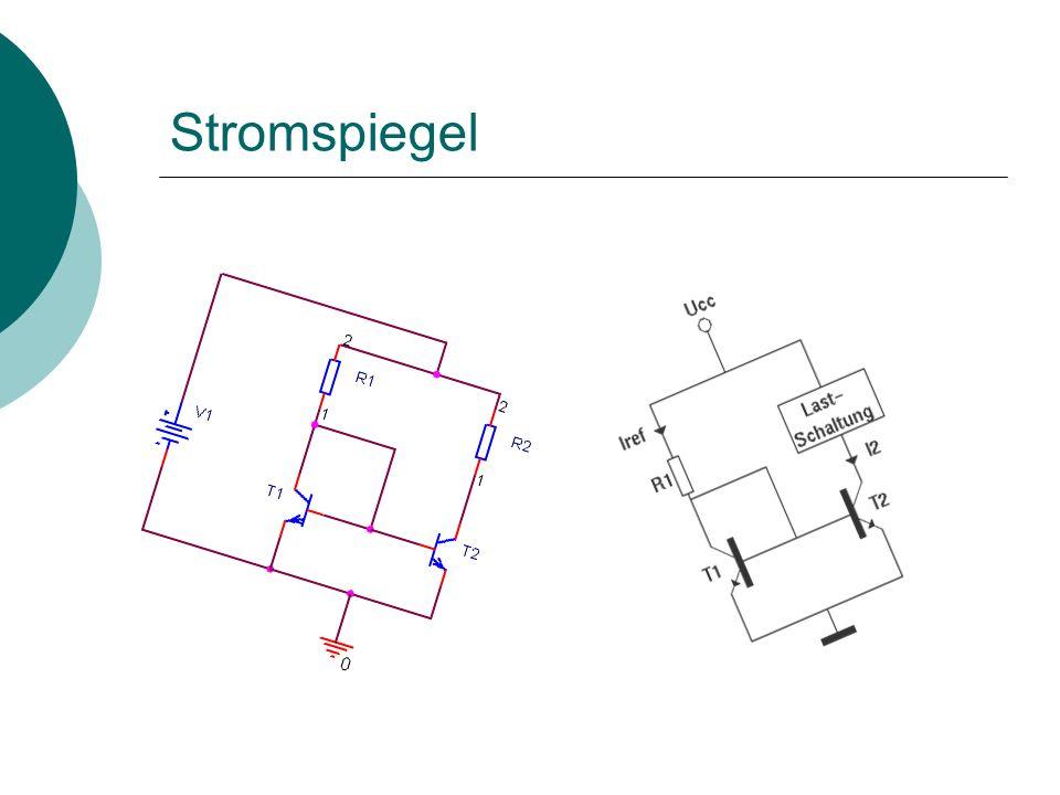 Differenzverstärker Simulation eines Differenzverstärkers im Differenzbetrieb: Die Verstärkung ist sehr gut zu erkennen.