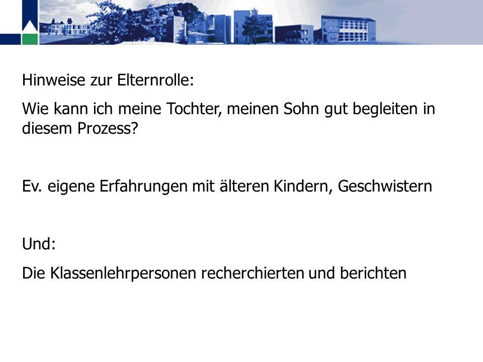 Die Berufsmittelschulen Die Fachmittelschulen Die Maturitätsschulen Einladungen für die Orientierungsabende an den Kantonsschulen beachten Unterlagen