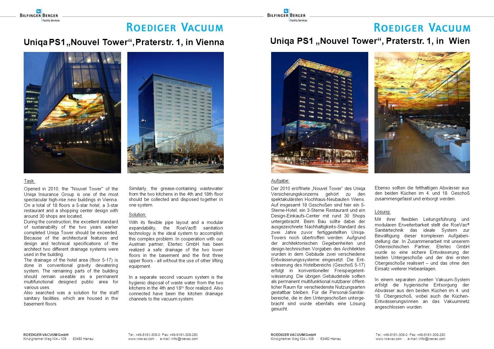 ROEDIGER VACUUM GmbH Tel.: +49-6181-309-0 · Fax: +49-6181-309-280 Kinzigheimer Weg 104 – 106 · 63450 Hanau www.roevac.com · e-mail: info@roevac.com Un