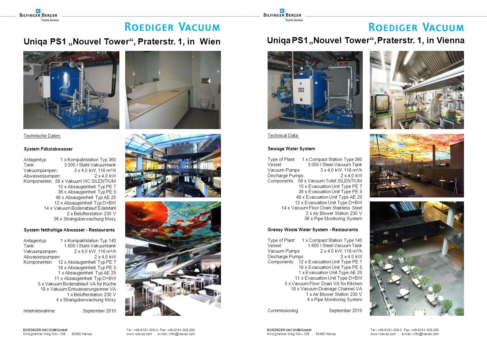 ROEDIGER VACUUM GmbH Tel.: +49-6181-309-0 · Fax: +49-6181-309-280 Kinzigheimer Weg 104 – 106 · 63450 Hanau www.roevac.com · e-mail: info@roevac.com Te