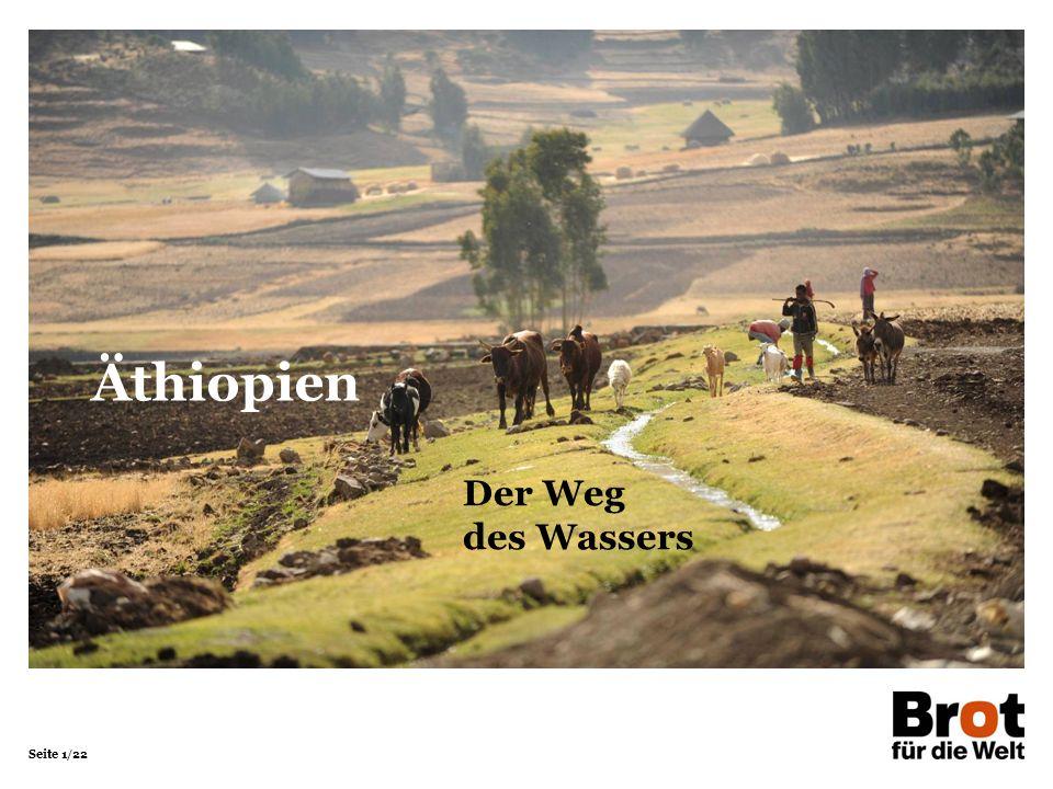 Seite 1/22 Der Weg des Wassers Äthiopien