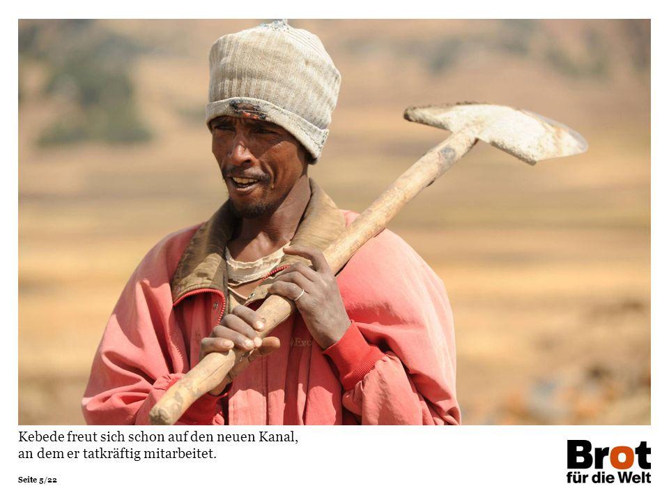 Seite 16/22 Yeshi backt Injera, das traditionelle äthiopische Fladenbrot.