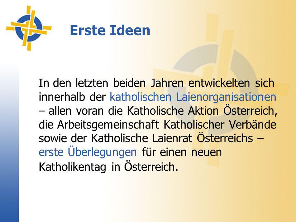 Beitrag für Europa oDie Bischofskonferenz griff diese Idee auf und stellte die Europathematik – mit Blick auf die geplante Erweiterung der Europäischen Union – ins Zentrum des Katholikentages.